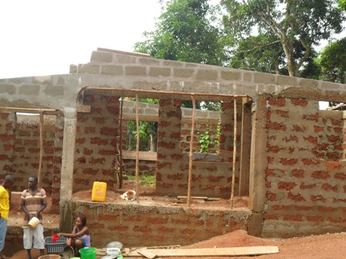 tailoring building under construction