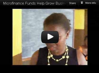 Seray - funds received help grow her business - watch video