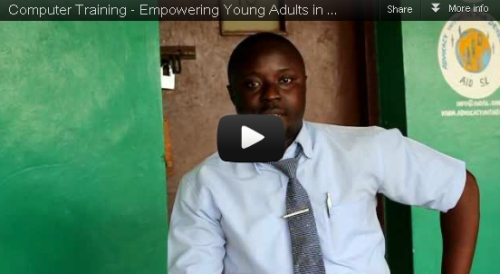 computer training helps youths find jobs - Watch video