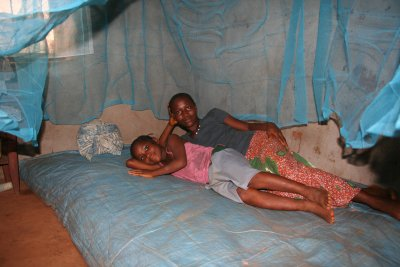 beneficiaries with ITN mosquito net