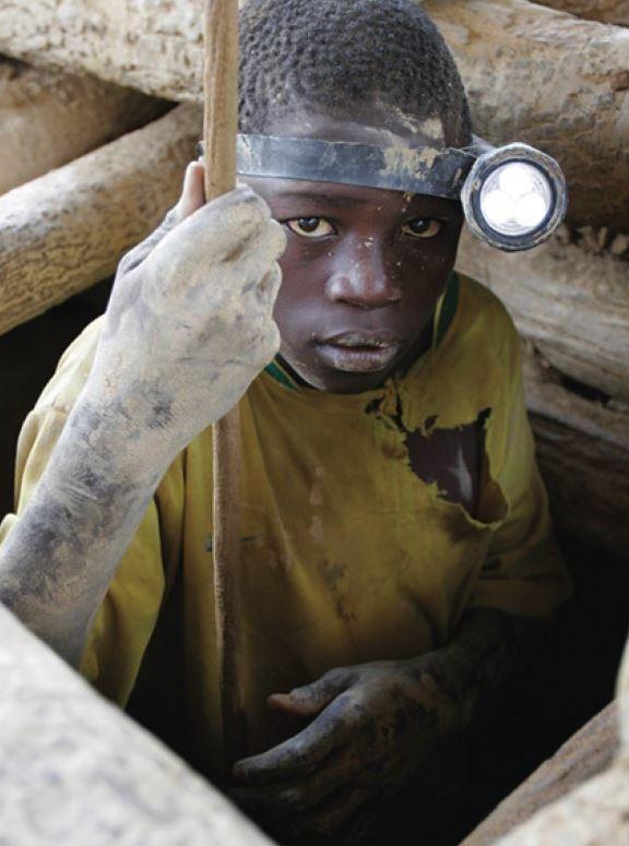 Child working in mine