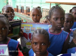 Providing books and teaching / learning materials to schools