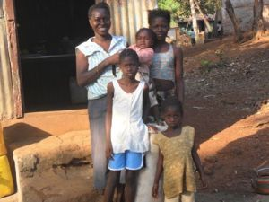 Mabinty and family
