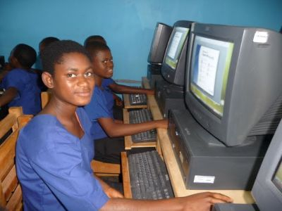 Computer lab in Cameroon