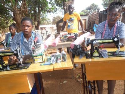 Sewing machine toolkits beneficiaries