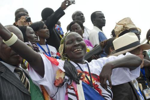 South Sudan rejoices