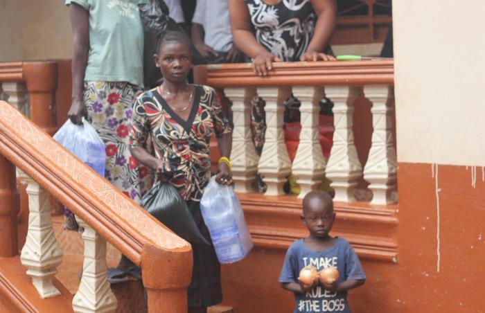 Provision of Relief Emergency Food Ebola Lockdown - Sierra Leone