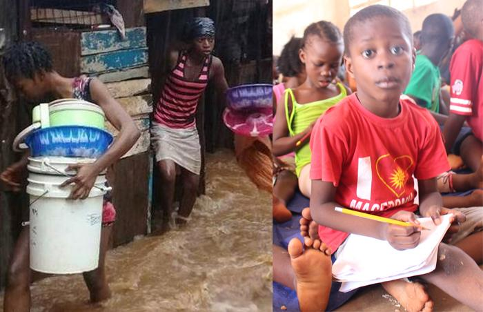 Help Provide Flood and Mudslide Emergency Relief