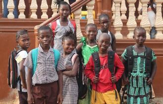 Children living in orphanage